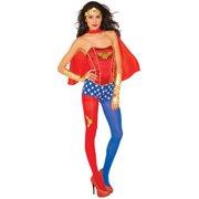 d6e6257314 Wonder Woman Corset Top Adult Halloween Accessory