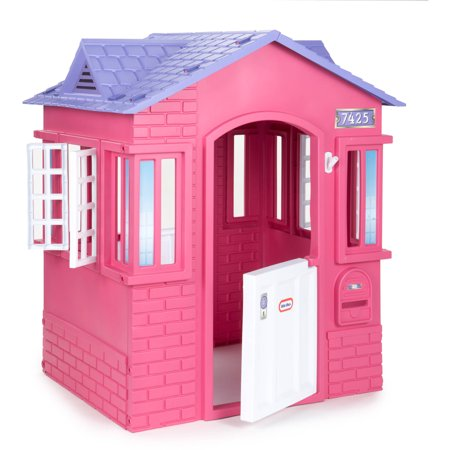 Little Tikes Princess Cottage Playhouse, Pink (Caribbean Cottage)