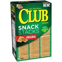 (2 Pack) Keebler Club Snack Stacks Original Crackers, 12.5 oz