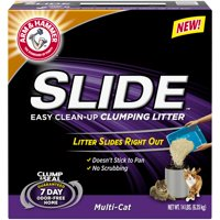 Arm & Hammer Slide Easy Clean Up Clumping Cat Litter Multi-Cat, 14-lb