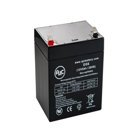 Ademco VISTA 21iP 12V 5Ah Alarm Battery - This is an AJC Brand Replacement