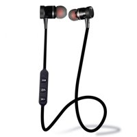 New Unisex  Stereo In-Ear Earphones Earbuds Handsfree Bluetooth Sport Wireless Headset AMZSE