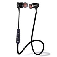 New Unisex  Stereo In-Ear Earphones Earbuds Handsfree Bluetooth Sport Wireless Headset AMZSE