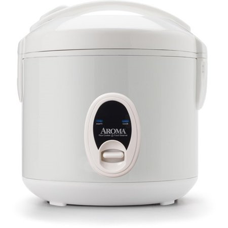 Aroma 8-Cup Rice Cooker and Food Steamer