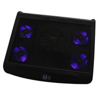 AGPtek USB Powered and Laptop Cooling Cooler Pad with 5 Built-in Fans for Laptop Computer Notebook