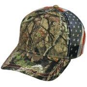 82bbae0e47e3c Mossy Oak Country Camo Americana Mesh Back Hunting Hat