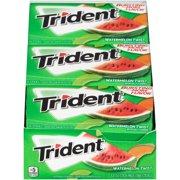 Trident Watermelon Twist Sugar Free Gum, 12 Pk 14 Pc