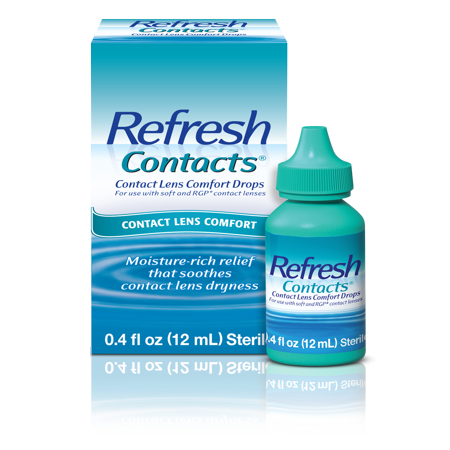 Refresh Contacts® Contact Lens Comfort Eye Drops 0.4 fl. oz.