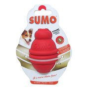 Small Red Sumo Dog Toy