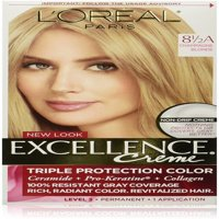 L'Oreal Paris Excellence Créme Permanent Hair Color, Champagne Blonde [8.5A] 1 ea