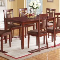 ACME Sonata Dining Table, Cherry - TABLE ONLY