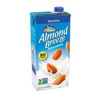 (4 Pack) Blue Diamond Almond Breeze Vanilla Almondmilk, 32 fl oz