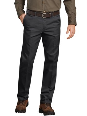 Men's Flat Front Comfort Waist Flex Pant