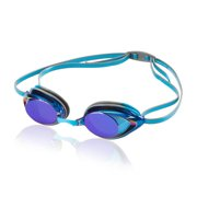 c2a98dd75eca Speedo Vanquisher 2.0 Mirrored Swim Swimming Competition Goggle - Horizon  Blue