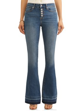 Melisa High Waist Stretch Flare Jean Women's