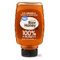 Great Value Clover Raw Honey, 32 oz