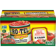 (12 Cans) RO*TEL Original Diced Tomatoes and Green Chilies, 10 Ounce