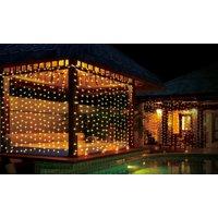 iMounTEK 300 LED Curtain String Light (Warm White)