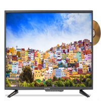 """Sceptre 32"""" Class HD (720P) LED TV (E325BD-S) with Built-in DVD"""