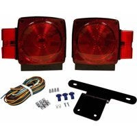 """Blazer C6424 Submersible Trailer Light Kit for Trailers Over and Under 80"""" Wide, 1 Pair"""