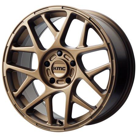 KMC KM708 Bully 15x7 5x100 +10mm Bronze Wheel Rim 15