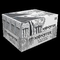 (20 Cans) Monster Ultra Energy Drink, Zero, 16 Fl Oz