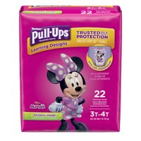 Pull-Ups Girls' Learning Designs Training Pants (Choose Pant Size and Count)