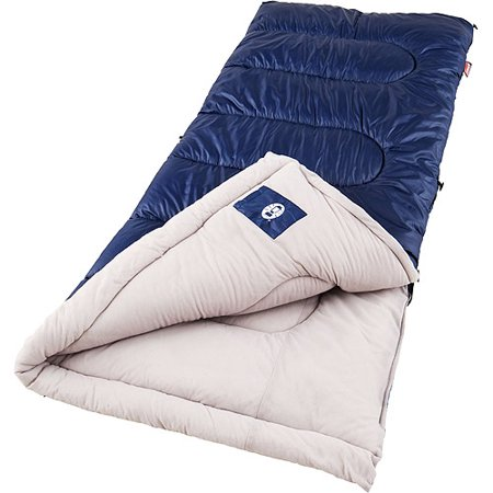 Sleeping Bag Girl (Coleman Brazos 30-Degree Sleeping)