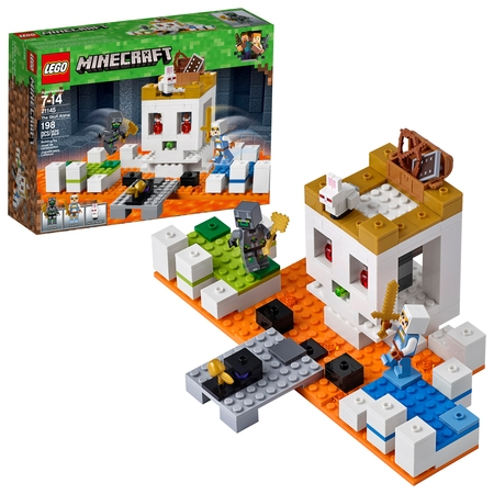 LEGO Minecraft The Skull Arena 21145 Building Set (198 Pieces) - Minecraft Green