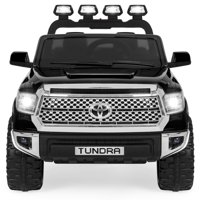 Best Choice Products 12V Kids Battery Powered Remote Control Toyota Tundra Ride On Truck - Black