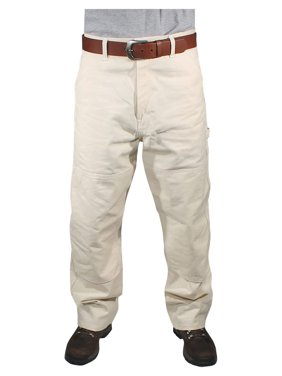 Rugged Blue Natural Painters Pants - Reinforced Knees - Natural - 34x36