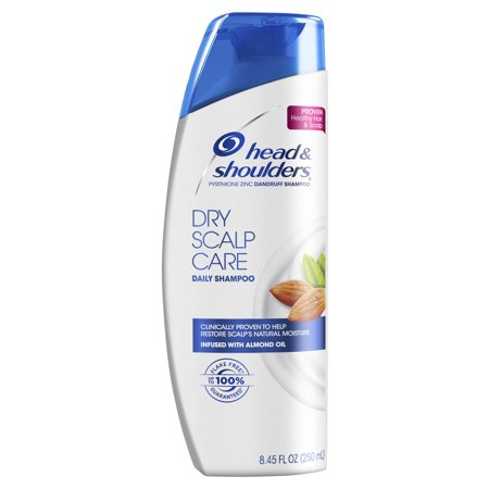 Head and Shoulders Dry Scalp Care Daily-Use Anti-Dandruff Shampoo, 8.45 fl