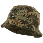 c5b2d57c377 Youth Pigment Dyed Bucket Hat-Leaf Camo