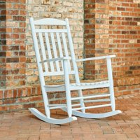 Shine Company Maine Porch Rocker - White