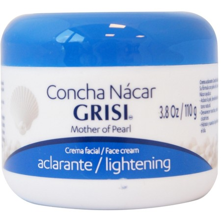 3 Pack - Grisi Mother of Pearl Face Cream Lightening, 3.8