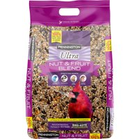 Pennington Ultra Fruit & Nut Blend Wild Bird Seed and Feed, 12 lbs
