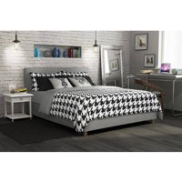 DHP Maddie Upholstered Platform Bed, Multiple Sizes and Colors
