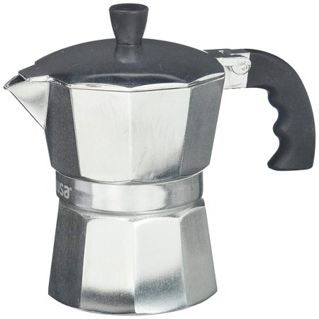 IMUSA USA 6 Cup Cool Touch Handle Espresso Coffee Maker