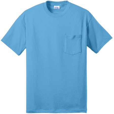 Port & Company Men's Big And Tall Soft Pocket T-Shirt Big And Tall Men Shirts