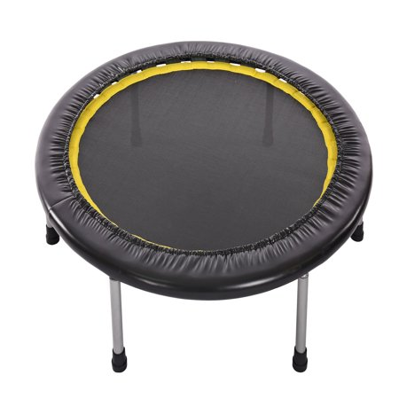 Calm 36-Inch Mini Trampoline Cardio, Black