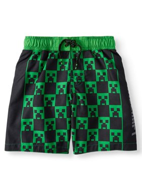 Digi Builders Graphic Swim Trunk (Little Boys & Big Boys)