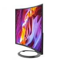 "Sceptre C248W-1920R 24"" Curved 75Hz Gaming LED Monitor Full HD 1080P HDMI DisplayPort VGA Speakers Ultra Thin Metal Black"
