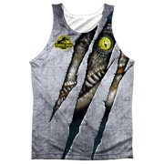 da6862d6f6e52 Jurassic Park Live Raptro Mens Sublimation Tank Top Shirt