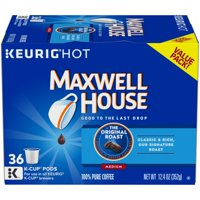 Maxwell House Original Roast Coffee K-Cup Pods, 36 count