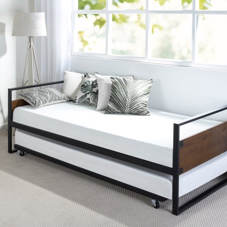 Zinus Suzanne Twin Daybed And Trundle Frame Set Walmart Com