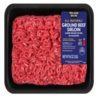 90% Lean/10% Fat, Ground Beef Sirloin, 1 lb