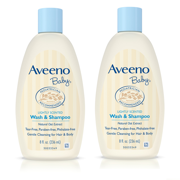 Aveeno Baby Gentle Wash & Shampoo with Natural Oat Extract, 8 fl. oz
