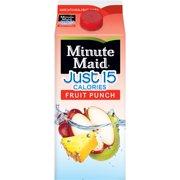 Minute Maid, Just 15 Calories Fruit Punch, 59 Fl. Oz.