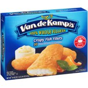 Pinnacle Foods Van de Kamps  Crispy Fish Fillets, 10 ea