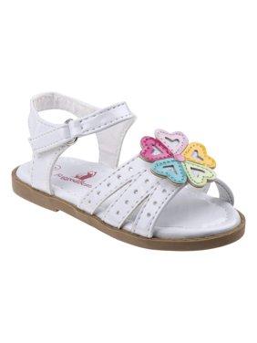 Rugged Bear Girls' Hearts Sandals